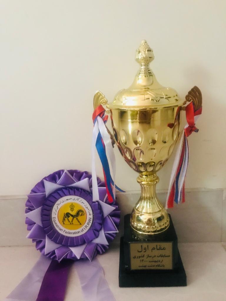 کاپ قهرمانی رویداد درساژ کشوری در رده 1D